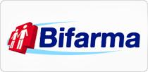 Layout de todo o site da rede Bifarma